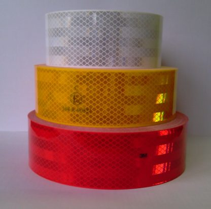 Светоотражающая самоклеющаяся лента 3М 983 для маркировки транспорта