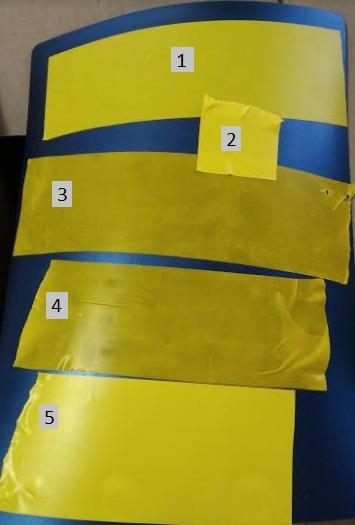 Клейкая лента для разметки толщина