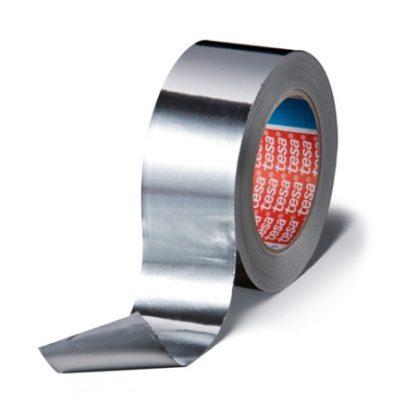 Алюминиевая клейкая лента Tesa 50575 с лайнером, 80мкр