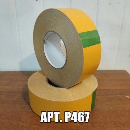 Двухсторонняя клейкая лента P467 на ПВХ основе, 240мкр