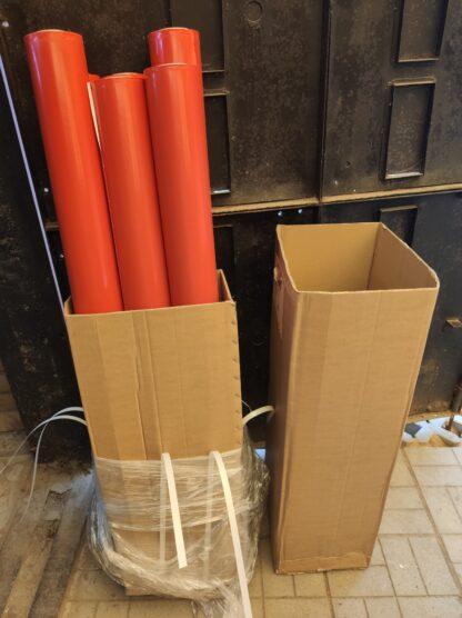 Красная защитная клейкая лента Stokvis Tapes 129323RE (старый артикул YB-13-015 RE)