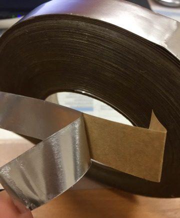 Алюминиевая клейкая лента с толщиной 178 микрон