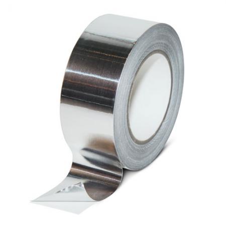 Алюминиевая клейкая лента 5001 с лайнером, 50мкр
